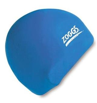 Zoggs Silicone Cap Blue Royal Blue