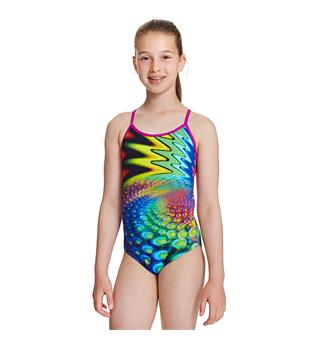 Peacook Bella Zoggs Multi 116cm Junior Crossback - Zoggs Toggs - Aqualast
