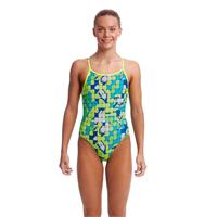 Funkita Girl | Glow Rider Single Strap Back | Lime