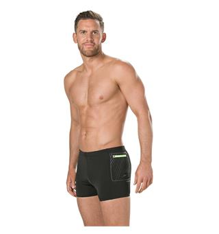 Speedo Contrast Pocket Uimahousut Aquashort | Musta