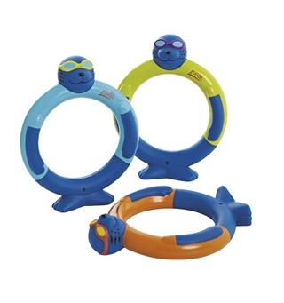 Sukellusrenkaat - Zoggy Dive Rings 3 pcs per pack