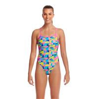 Funkita Sunkissed Uimapuku | EU38 Twised Back | Monivärinen