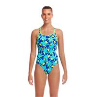Funkita Bird Brain Uimapuku | EU38 Diamond Back | Turkoosi